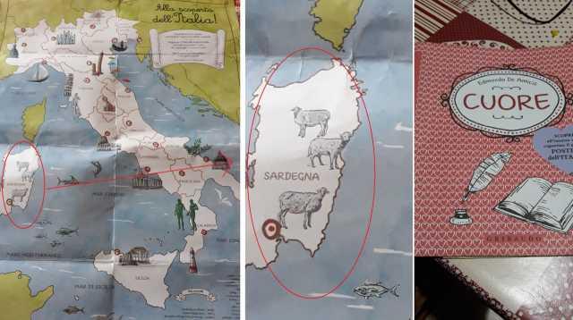 Cartina Sardegna 2017.Youtg Net Il Monumento Simbolo Della Sardegna Sul Libro Cuore Le Pecore