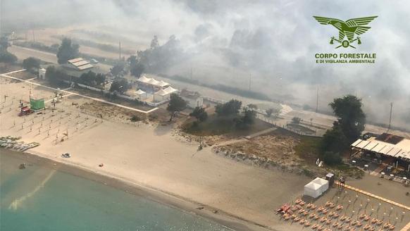 Danni dall'incendio a Orrì, via alle domande per i contributi