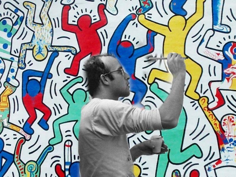 YouTG.NET - Keith Haring, un'icona pop a 30 anni dalla morte.