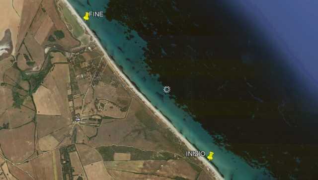 Valori di inquinanti fuori norma, due chilometri vietati alla balneazione a Stintino