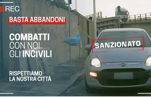 Abbandono di rifiuti, il Comune di Cagliari intensifica i controlli: online il terzo video della campagna
