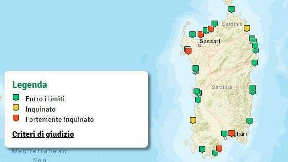 Cartina Sardegna Pula.Youtg Net Da Quartu A Valledoria Passando Da Pula Ecco La Mappa