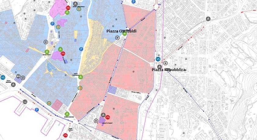 Mappa Sardegna Zona Cagliari.Youtg Net Cagliari Le Zone Con Limite A 30 Km H Ma Anche A 10 Sono Realta Ecco I Cartelli