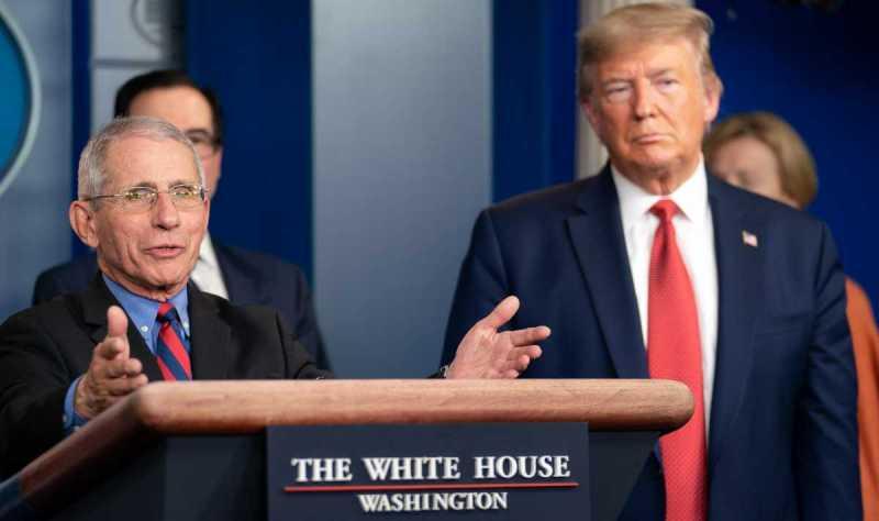 Il Presidente Trump minaccia di licenziare Fauci