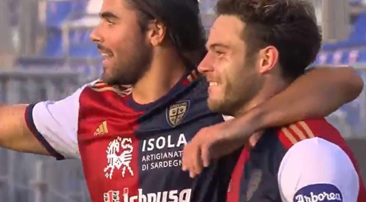 YouTG.NET - Il Cagliari festeggia il compleanno di Gigi Riva: 2-0 contro la Sampdoria