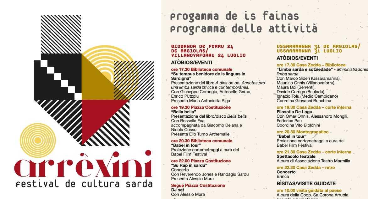 YouTG.NET - Arrexini, primo festival di lingua e cultura sarda a  Villanovaforru