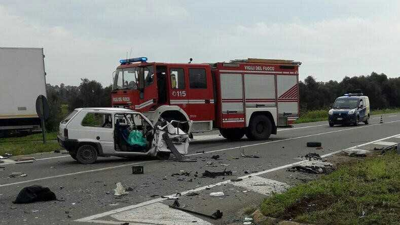 Incidente in statale Due vittime