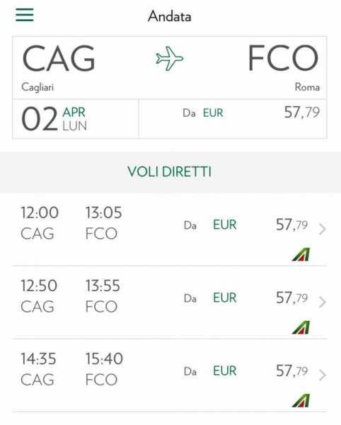 Youtg Net Continuita Territoriale Alitalia Aumenta I Voli